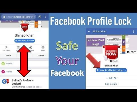 Facebook Profile Lock | How To Lock Facebook Profile | Android Tips
