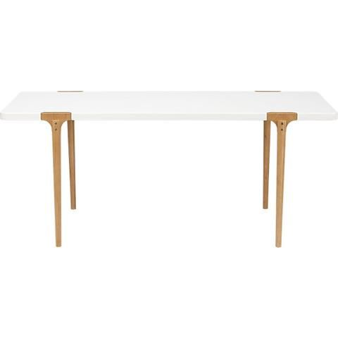 Woody Dining Table In Dining Tables Cb2 Dining Table Modern