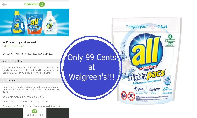 All Brand Laundry Detergent Only 0 99 At Walgreen S Starting 5 11