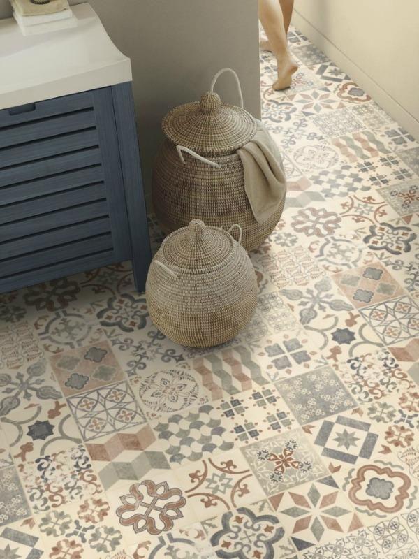 rev tement pvc exclusive 240 concept bohemian almeria natural tarkett kj kken p hytta. Black Bedroom Furniture Sets. Home Design Ideas