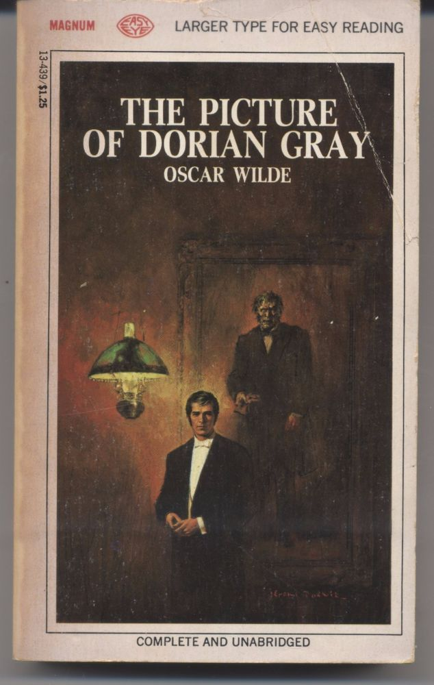 THE PICTURE OF DORIAN GRAY. (Wilde, Oscar. - 1968) Magnum #63 easy eye |  Dorian gray, Dorian gray book, Books