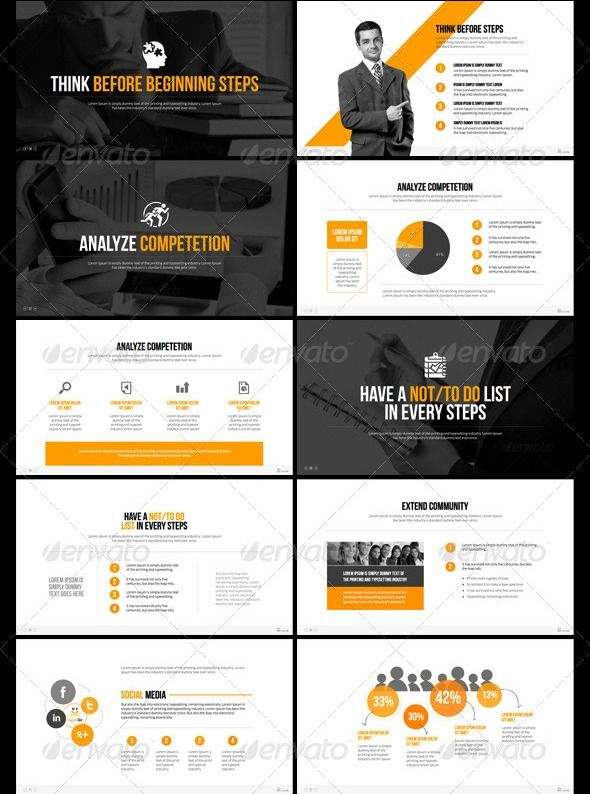 35 Great Powerpoint Templates Business Design Ppt Pinterest