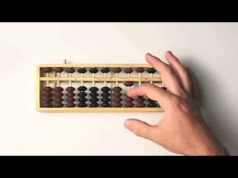 Abacus Lesson 2 // Learning to Count on the Abacus // Step by Step ...