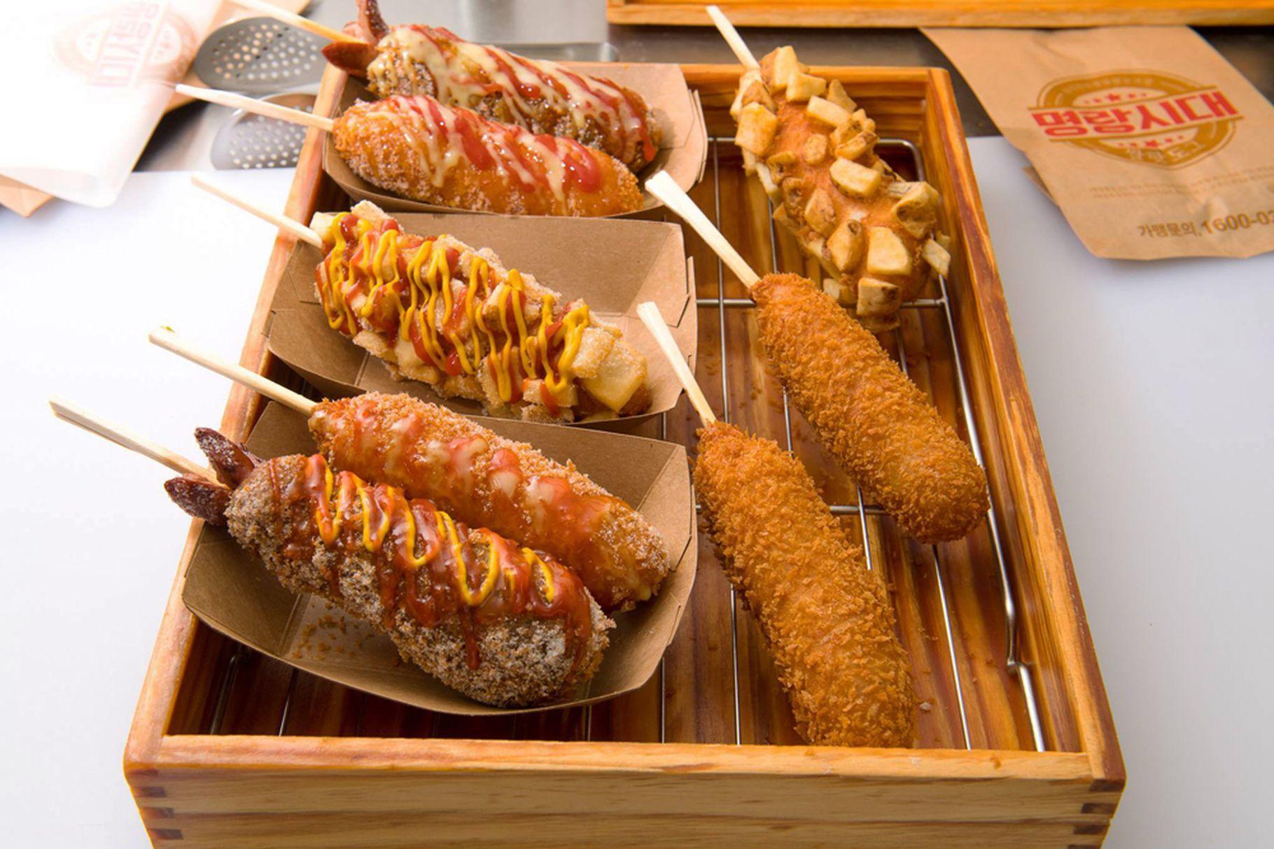 Korean street food corn dogs arrive in chinatown