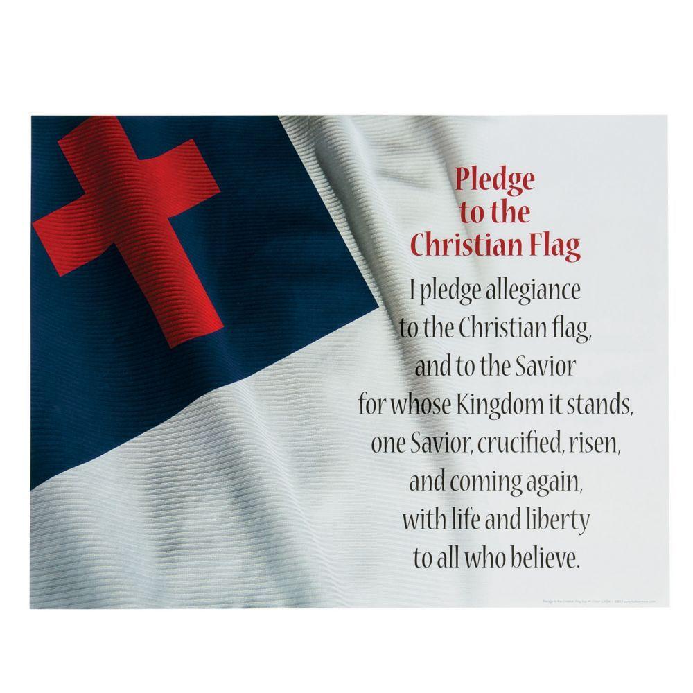 Pin By Sheena Fryday On Homeschool In 2020 Christian Flag Pledge To The Christian Flag Pledge Of Allegiance