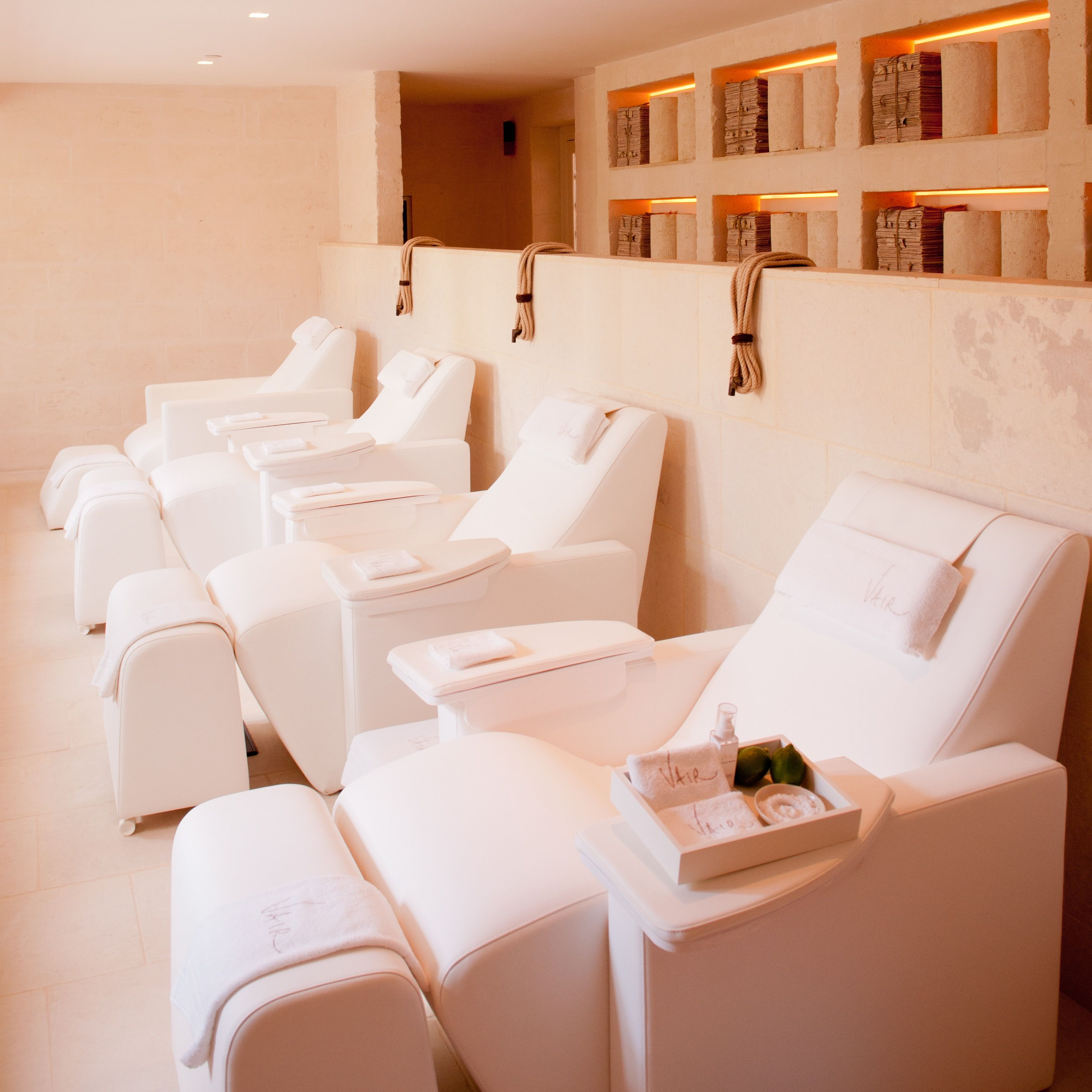 Rest and relax at the Vair Spa, Borgo Egnazia.