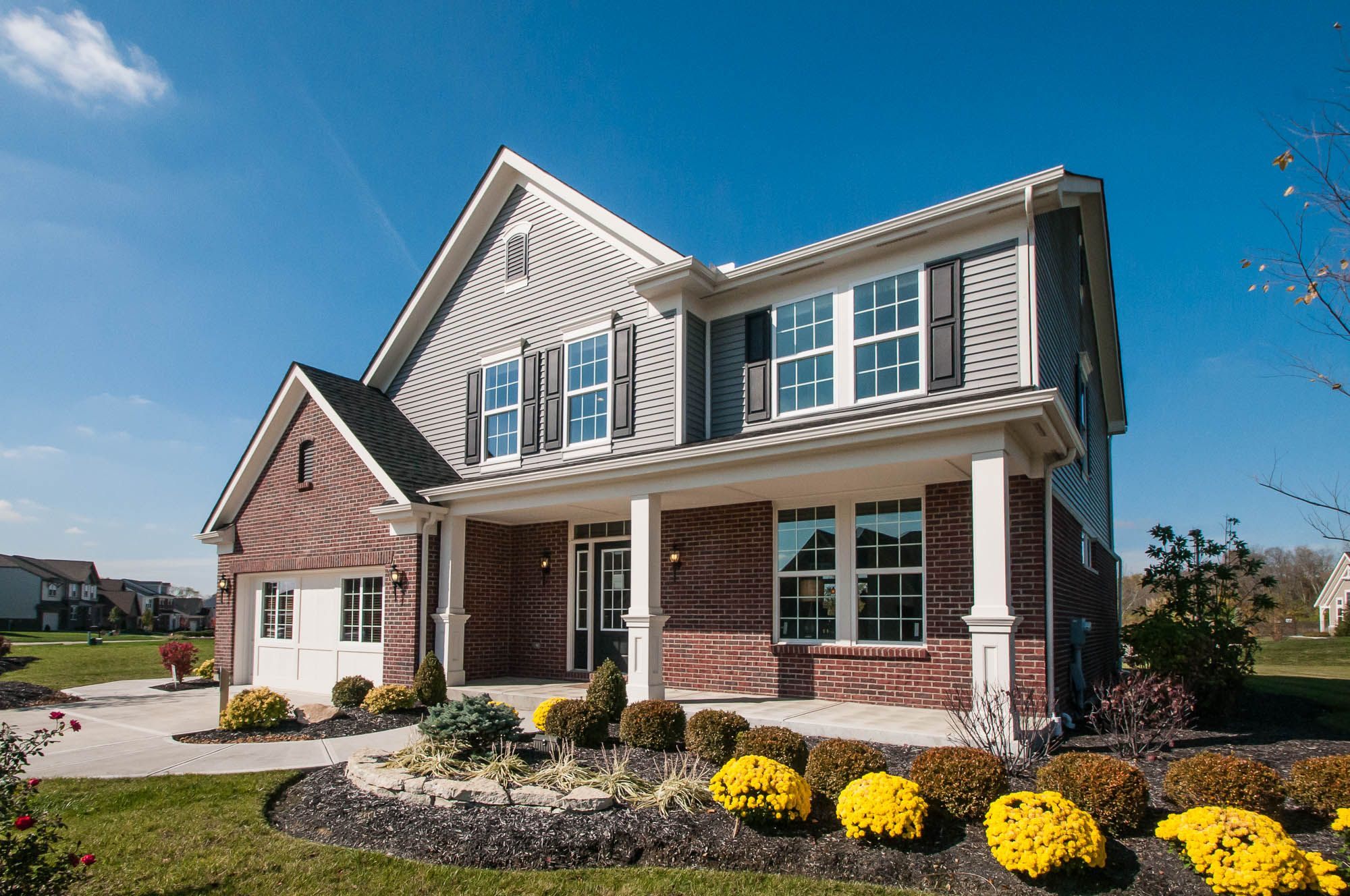 Home builders canton ohio - Come Visit New Home Builder Fischer Homes S Redfield Model At The Springs Located In Springboro