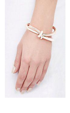 Asymmetric Bow Cuff