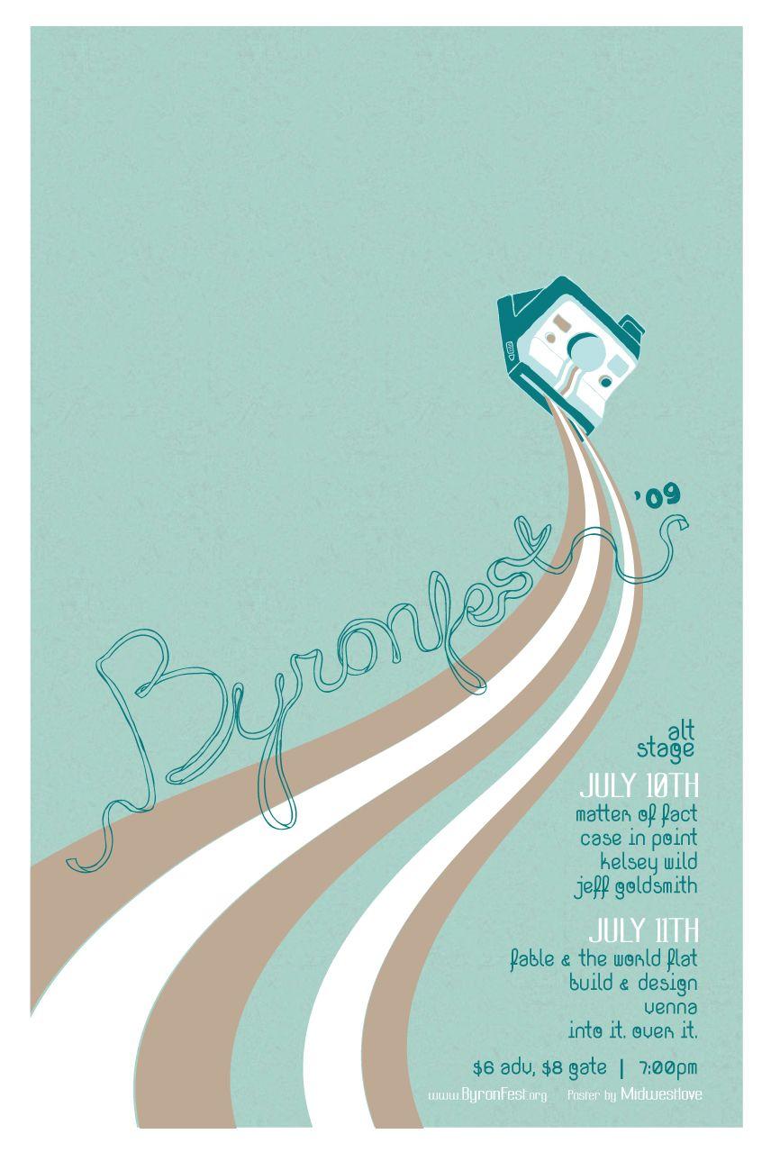 Poster design event - Byronfest Event Poster