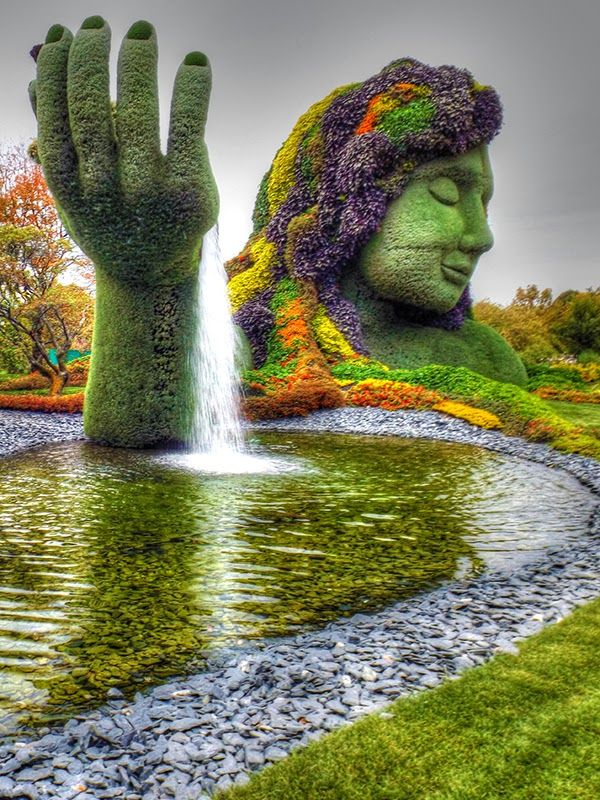 Welcome To The Montreal Botanical Garden In Quebec, Canada, Founded In  1931, Where Extraordinary Thematic Gardens Make Even The Virtual Visi.