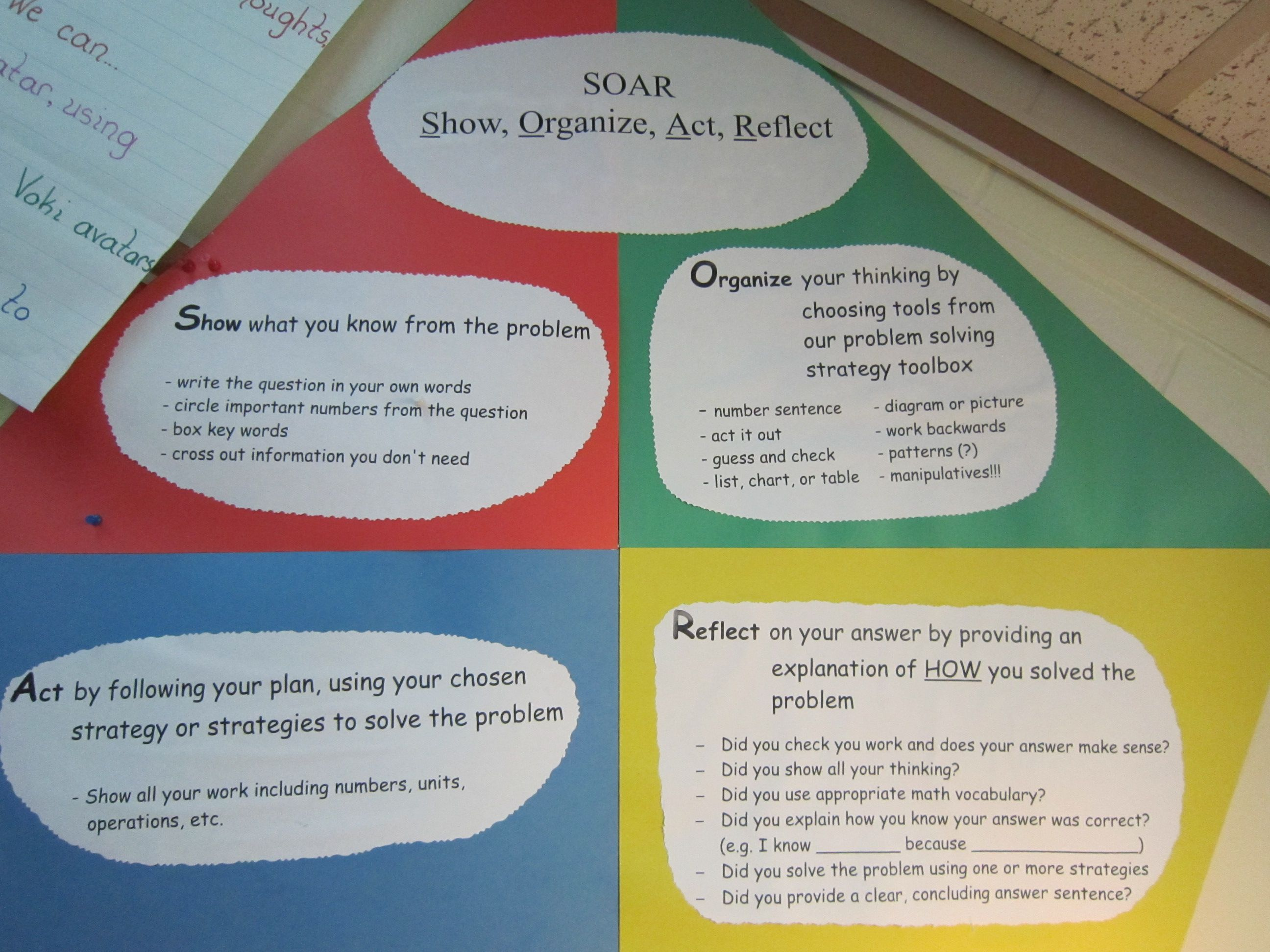 soar math problem solving strategy school math math problem solving