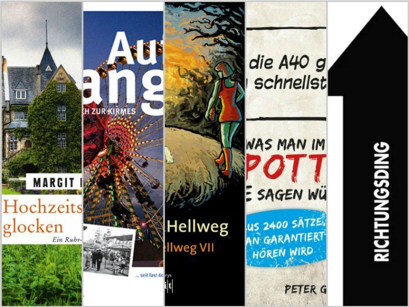 Literatur von hier: 5 Buchtipps aus dem Ruhrgebiet. Mehr auf http://www.coolibri.de/redaktion/konsum/literatur-von-hier-crange-hellweg-mehr.html