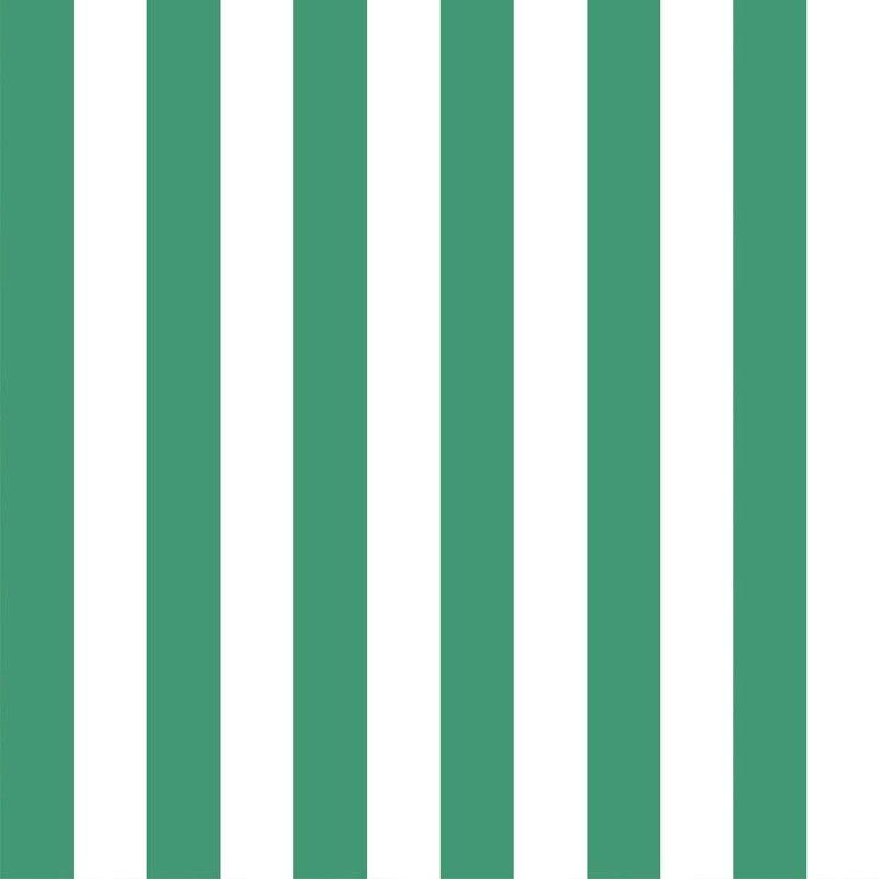 LONDON STRIPE Wallpaper White Green