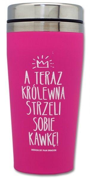 Kubek Termiczny Krolewna Strzeli Kawke Wredna Hit 5961249968 Oficjalne Archiwum Allegro Drink Sleeves Koozies Drinks