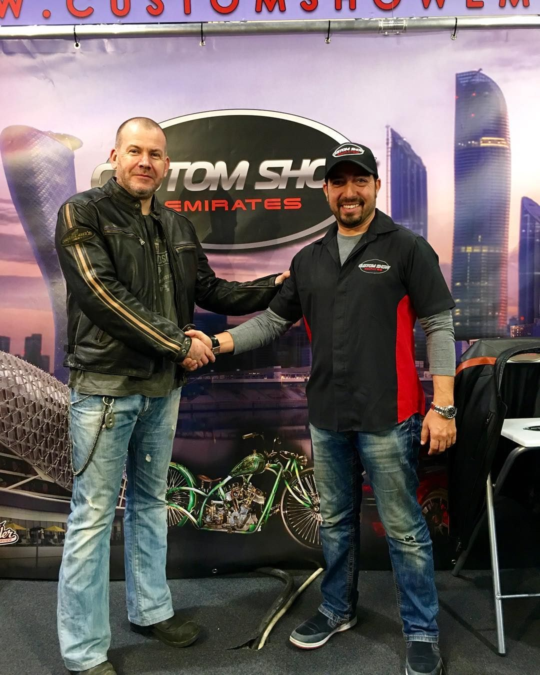 Rocket Bobs have been invited to take part in the Biker Build Off at the 2017 Custom Show Emirates #emirates #customshowemirates #rocketbobs #bikerbuildoff