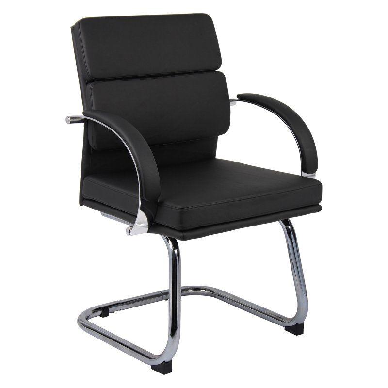 Boss guest chair black b9409bk furniture office