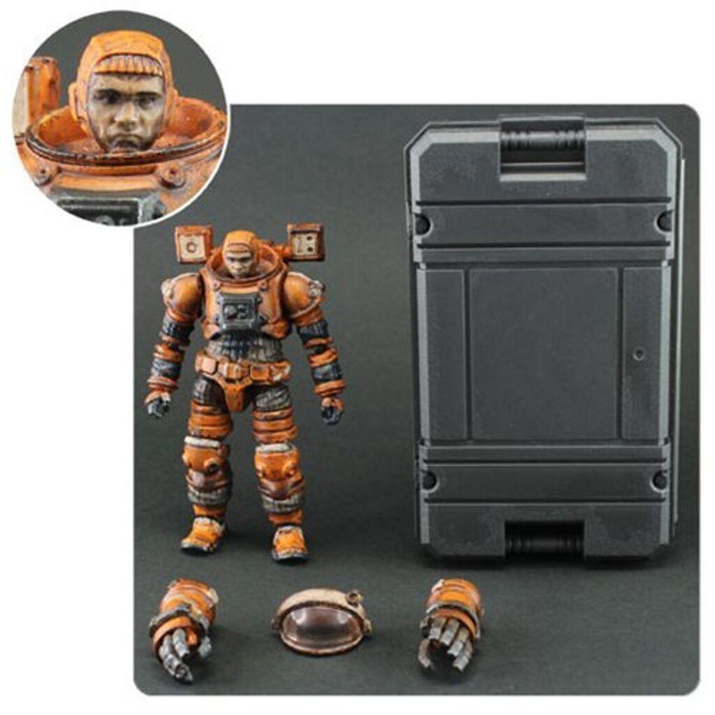 """Pluie Acide 4/"""" Space prisonnier Action Figure"""