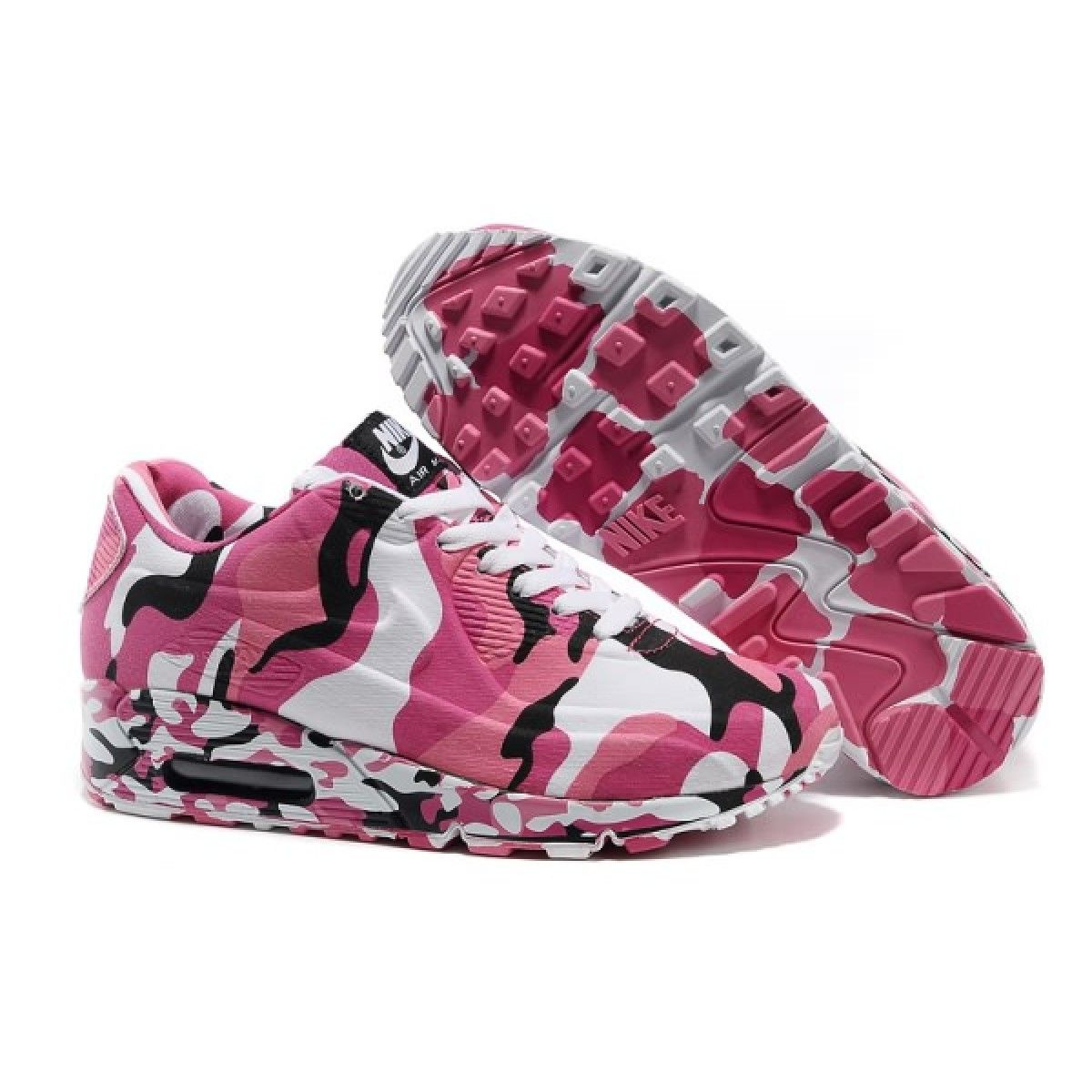 official photos c1fe8 4bf74 pink camo shoes  Womens Nike Air Max 90 VT Camouflage Shoes PinkWhite on  sale for USA .