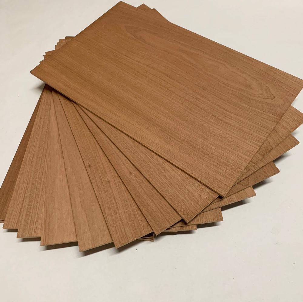Sale Sapele Plywood 1 4 Inch 6mm Glowforge Size Wood Laser Etsy In 2020 Sapele Wood Woodworking Supplies