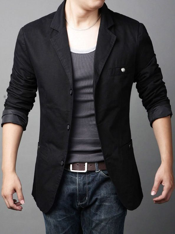 nice loking casual blazer for men with jeans (2) in 2019 ...