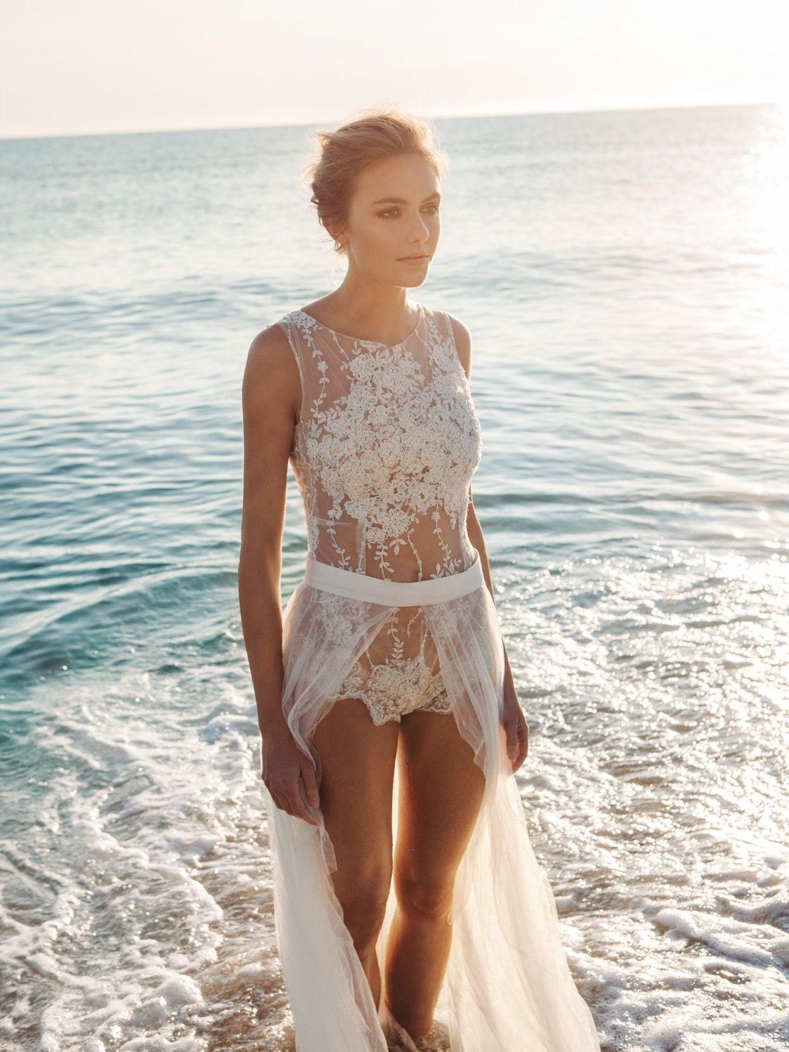 EMANUEL HENDRIK | Body: Shine - Duchesseschleppe | Model: Lisa Kohl ...