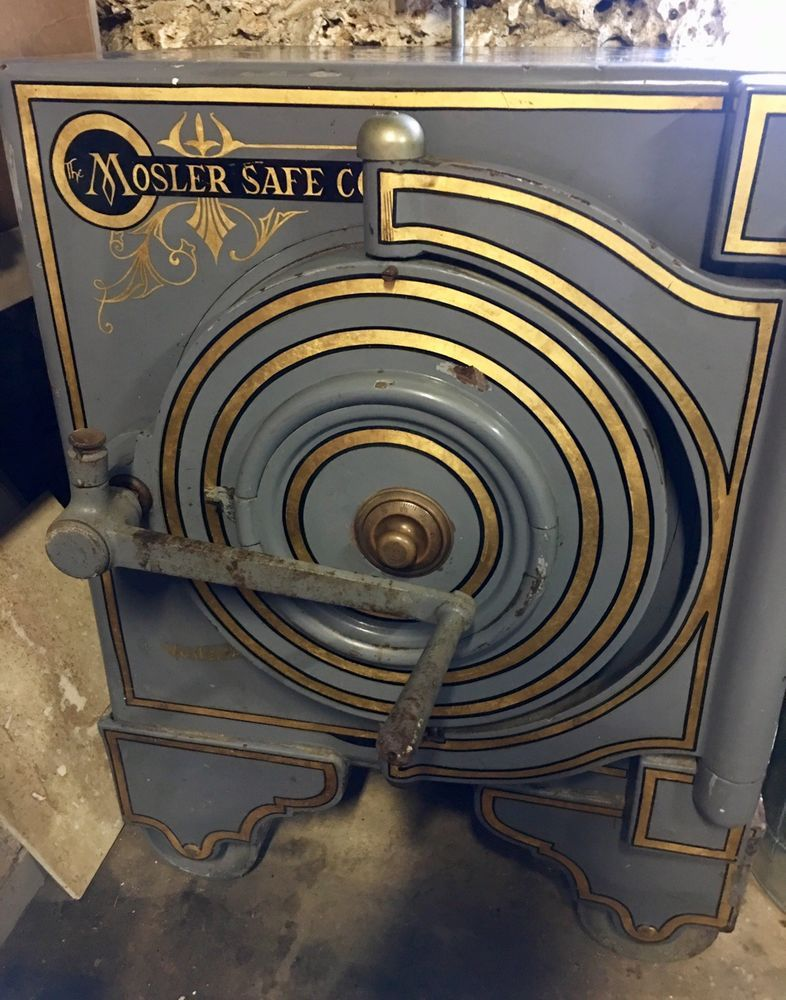 Antique The Mosler Safe Company Safe Antique Safe Safe Company