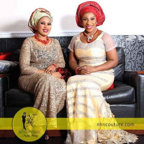 NHNCouture-ColorsofChristmas-with @ddvchic #nhncouture #ddvchic #asoebi #nigeriantraditionalattire