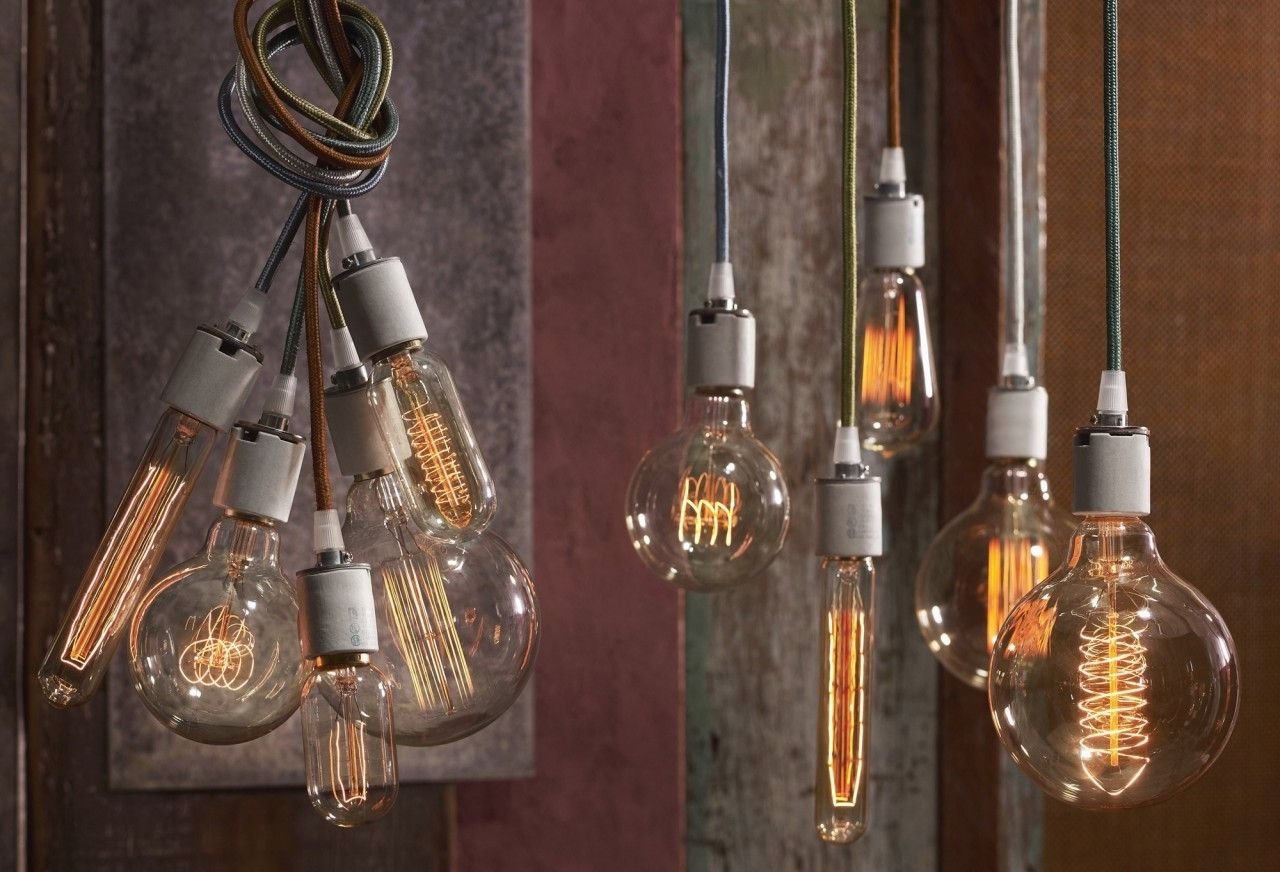 Roost cloth cord set pigment the nest lighting pinterest