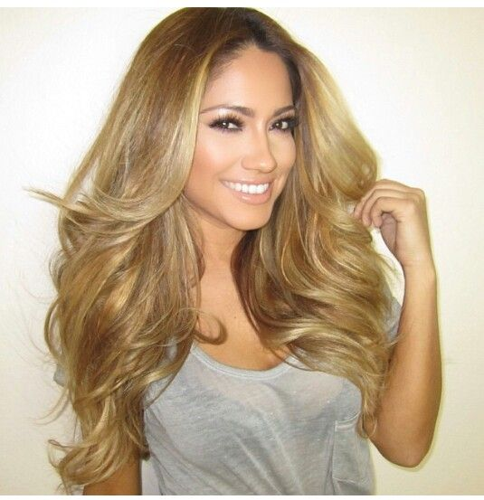 Why cant i get my hair this blonde -_- Jessica Burciaga