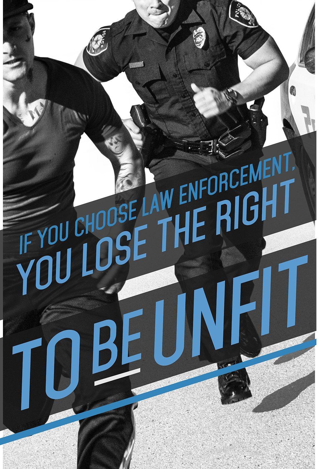 Police Motivation Poster Police Fitness Motivation Police Workout Workout Posters