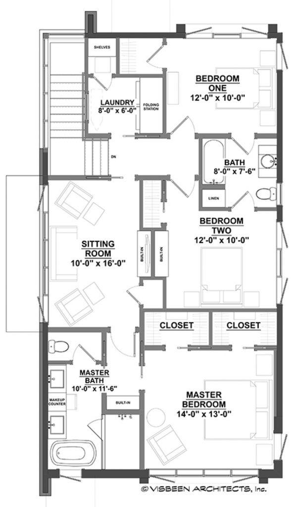 Plano planta baja de casa moderna de dos pisos y tres - Casas planta baja ...