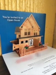 pop up house mock up with interactive door visit www popupoccasions rh pinterest com