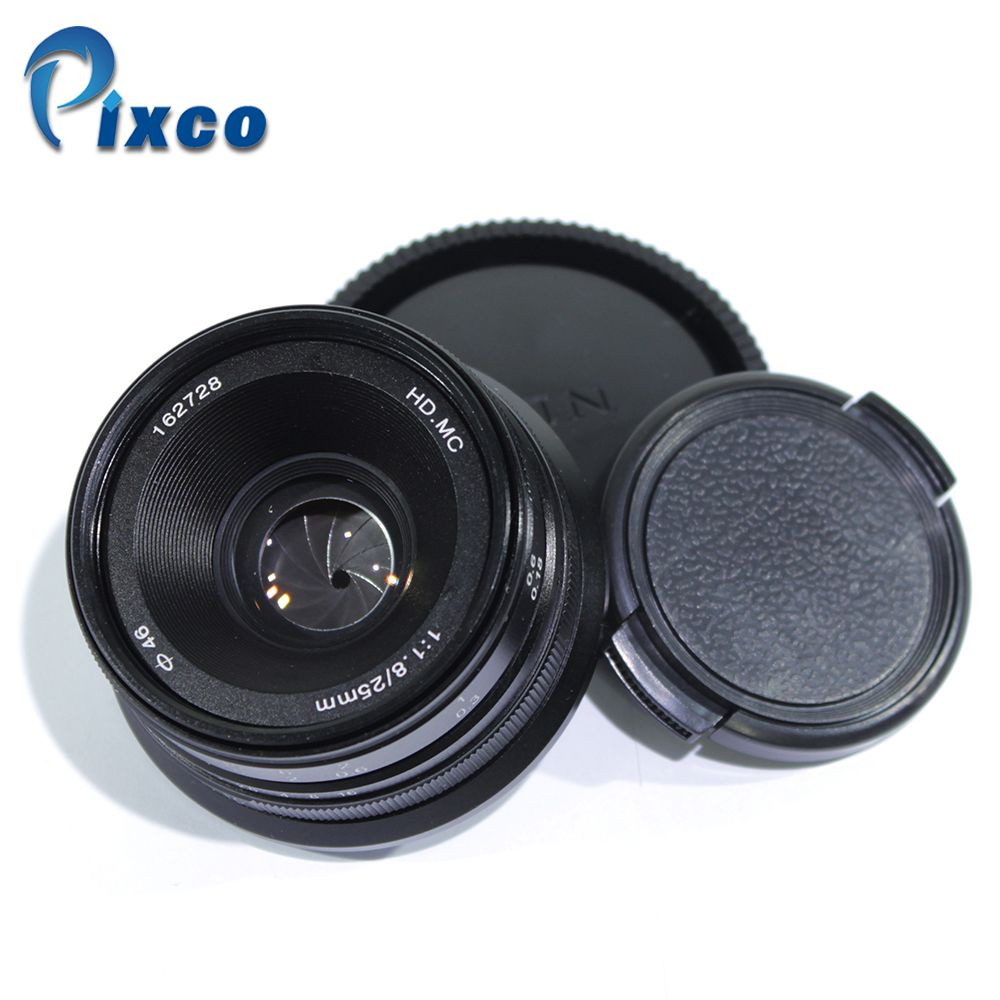 MC Manual Focus Lens for Micro Four Thirds Micro 4/3 mount GX8 GX85 G7 or  for Nex mount A6500 A6300 + Gift