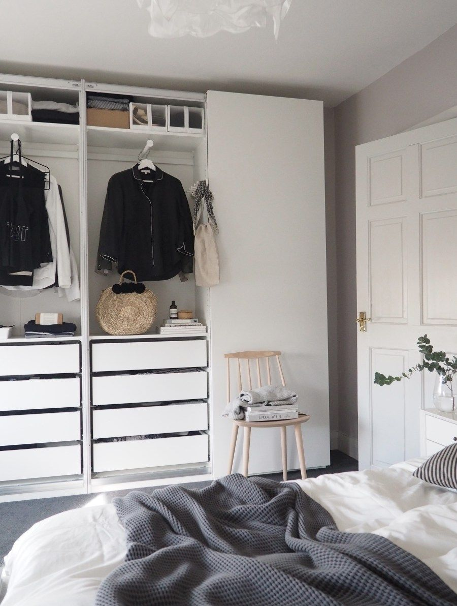 Bedroom updates getting organised with IKEA PAX