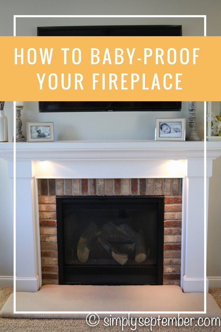 how to baby proof a fireplace diy hearth cushion baby proof rh pinterest com