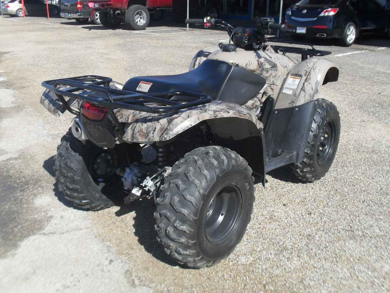 Used 2013 Honda FOURTRAX RANCHER 420 4X4 ATVs For Sale In Texas. 2013 Honda  Rancher