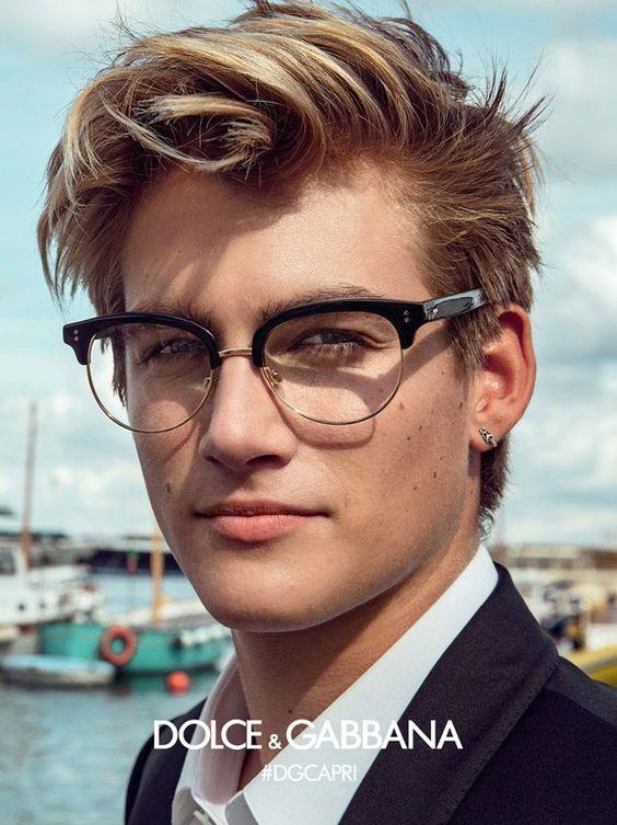 d2db47f14a Dolce and Gabbana SS17 Eyewear Starring Cameron Dallas