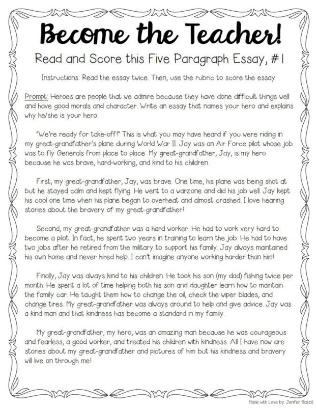 Tips For Teaching And Grading Five Paragraph Essays  Paragraph