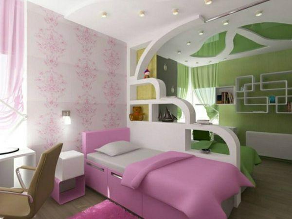 30 Ideen Für Kinderzimmergestaltung   Kinderzimmer Gestalten Ideen Deko  Regale Wand