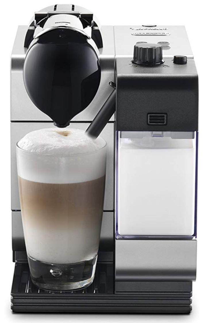 Nespresso by De'Longhi EN520SL Lattissima Plus Espresso and Cappuccino Machine with Nespresso Capsule System, Silver #cappuccinomachine