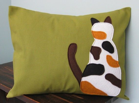 would make a good project calico cat pillow cover designsbynancyt rh pinterest com