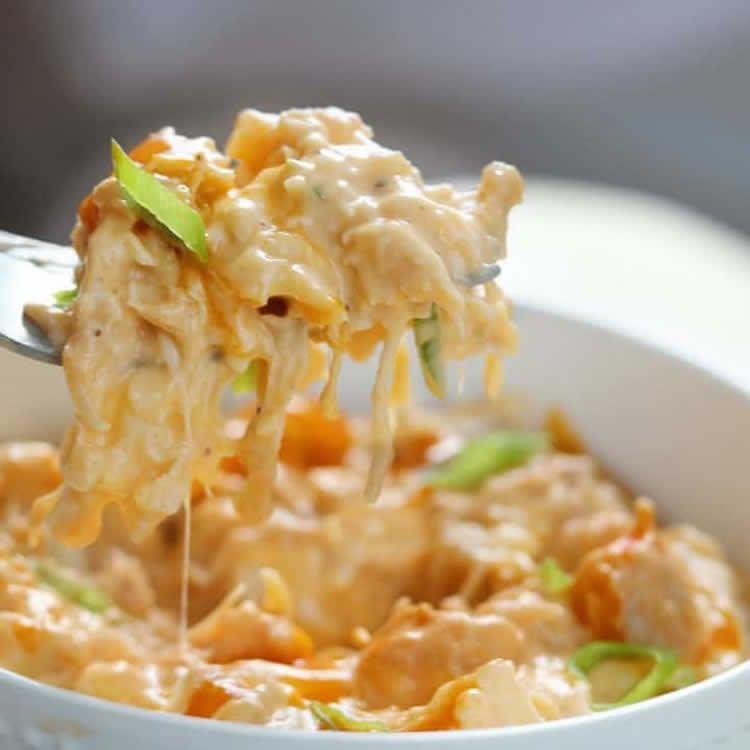 Chou-fleur et poulet au cookeo - un délicieux gratin à la crème