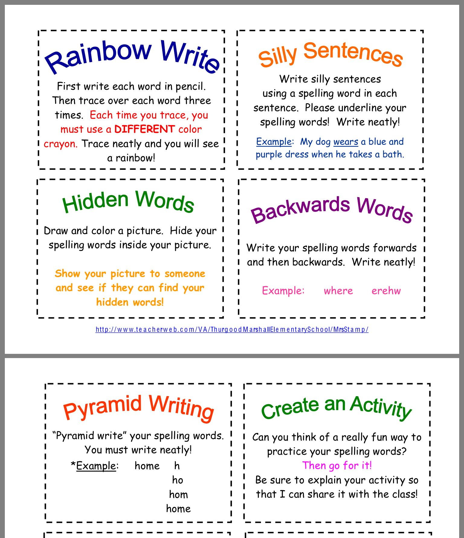 Pin By Lynnmarie Munroe On School Spelling Words Silly Sentences Rainbow Writing [ 1782 x 1536 Pixel ]