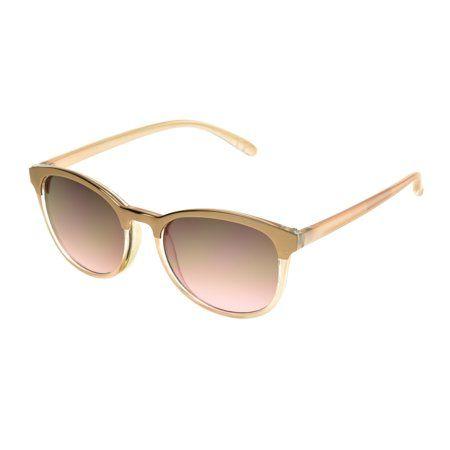24ed0d9e0 Foster Grant Women's Rose Gold Coquette Sunglasses I07   Products in ...