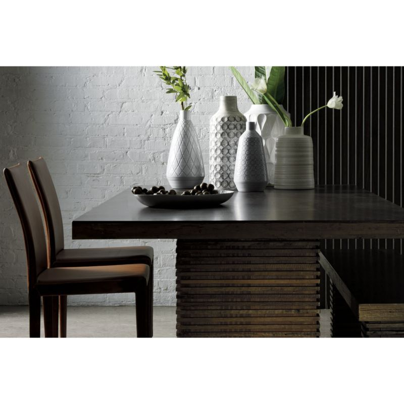 paloma i dining table products vase leather dining chairs rh pinterest com