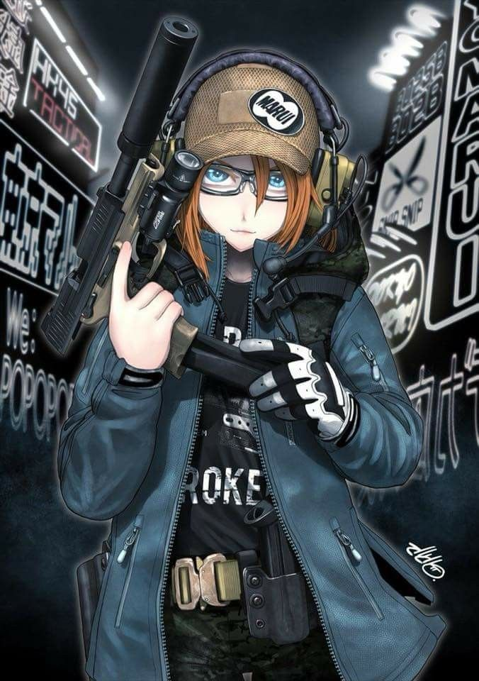 Pin by Ender Dragonoth on Girls with guns Anime military