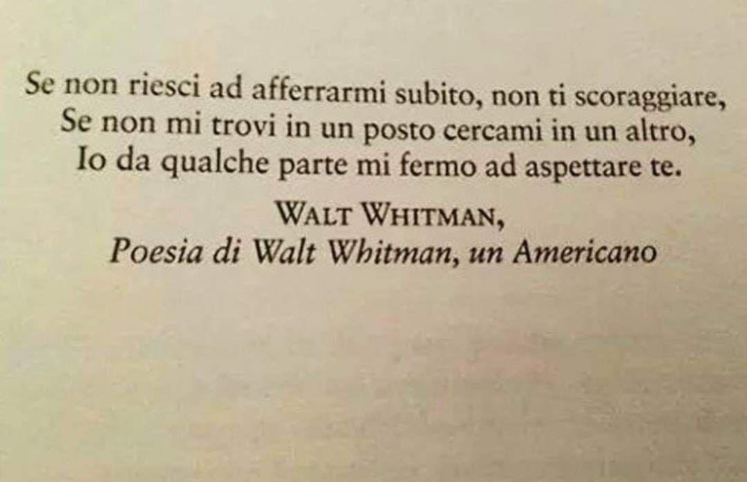 Frasi Amore Whitman.Pin Di Charlie Su Poesia Citazioni Parole