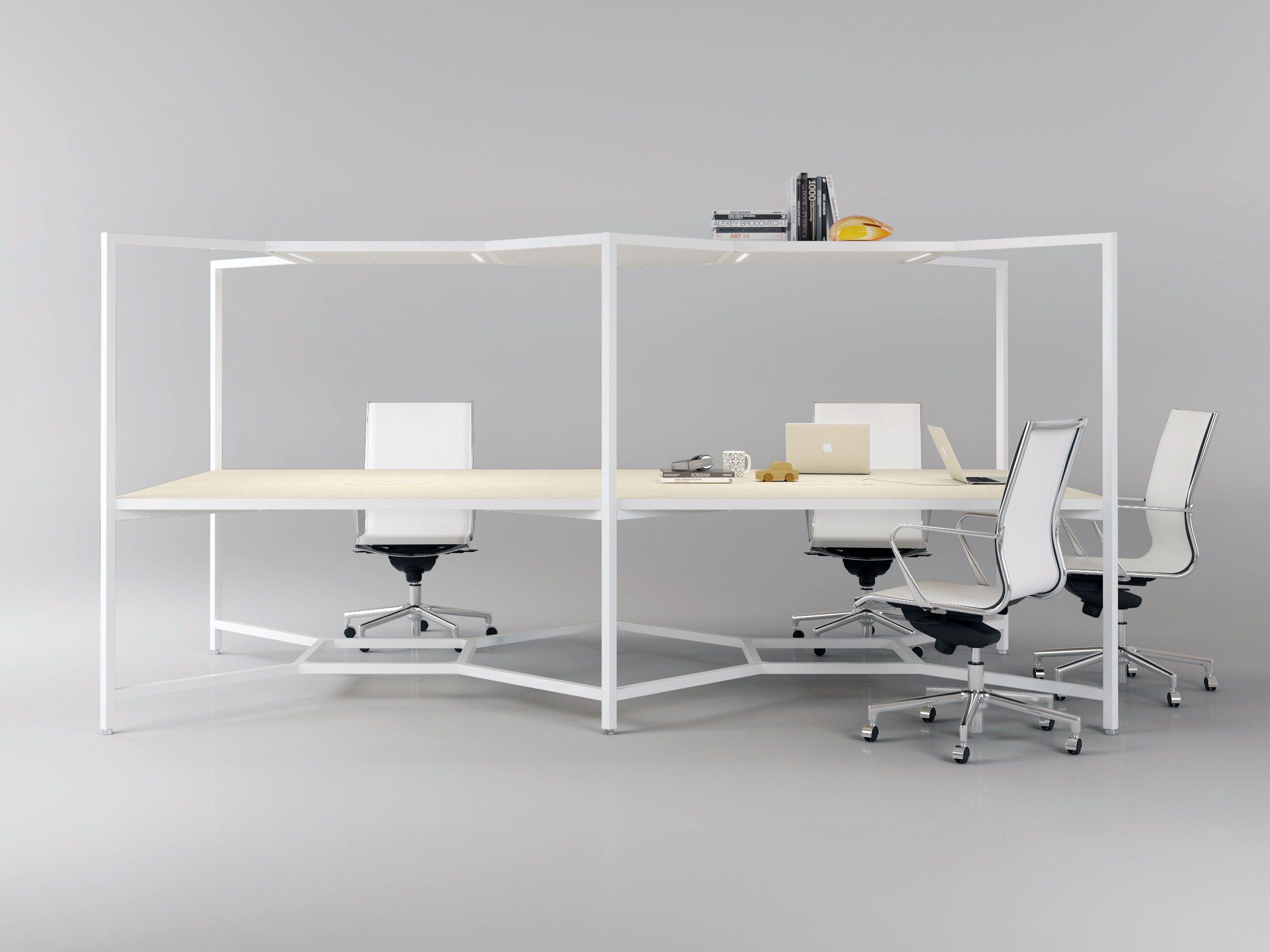 The Hub Desk From Fantoni Design