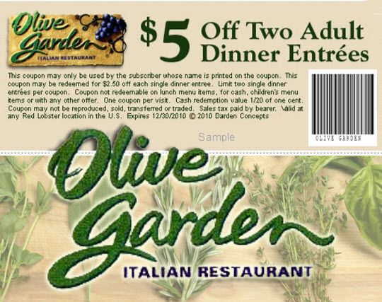 Olive Garden Free Coupons 2013 | Olive Garden Printable Coupons ...
