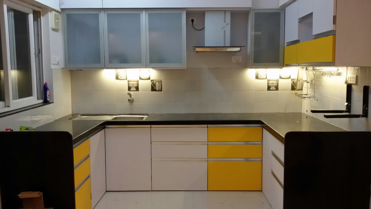 Premium Modular Kitchens Interior Design by Amith